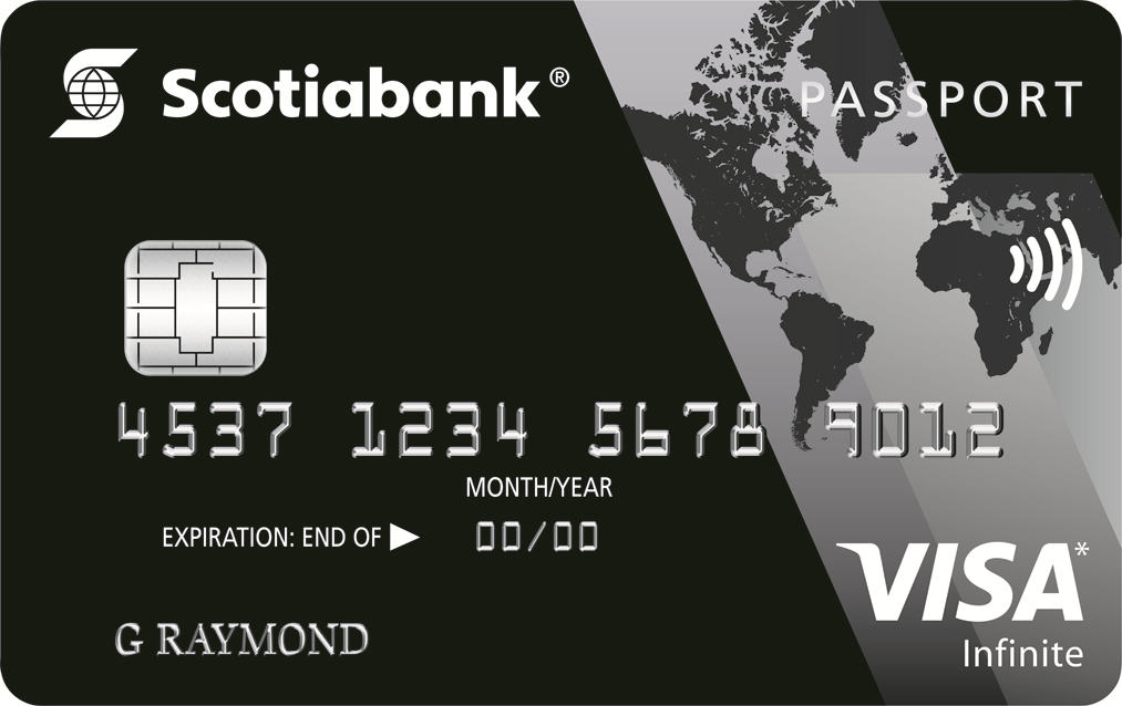 Scotiabank Passport™ Visa Infinite* Credit Card